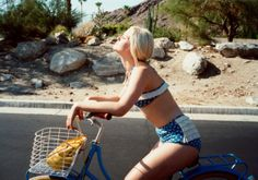 Orla Kiely SS13 lookbook photographed by Lina Scheynius in Palm Springs.
