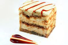 White Chocolate Caramel Latte Tiramisu