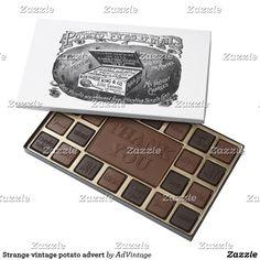 Vintage illustration of a lady baking assorted chocolates