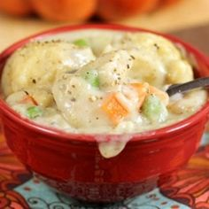 30 minute Chicken and Dumplings