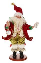 Mark Roberts 'Santa's List' Figurine available at Mark Roberts, Santa List, Santa Decorations, Santa Doll, Santa Figurines, Merry Christmas, Christmas Ornaments, Nordstrom, Holiday Decor