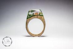 wood resin ring tuscany