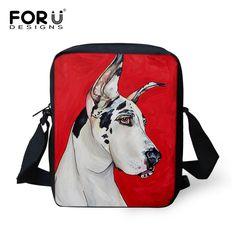 Famous Brand Designers Women Messenger Bags Frenchie French Bulldog Print Cross Body Bag Mini 3D Art Pet Cat Travel Shoulder Bag