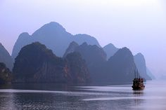 Vietnam, Halong Bay - Wonder of the World The Places Youll Go, Places To See, Travel Around The World, Around The Worlds, Vietnam Destinations, Cruise Pictures, Family Holiday Destinations, Ha Long Bay, Beautiful Places In The World