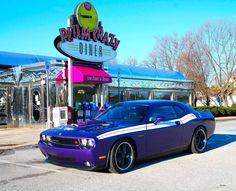 Plum Crazy Dodge Challenger