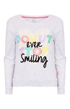 Donut Care Pajama Sweatshirt