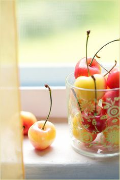 Rainier Cherries: my absolute favorite summertime treat