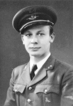"""Flying from RAF Northolt on 15 September 1940, P/O Georges LJ Doutrepont was killed by enemy fighters as Hurricane Mk I RE-P flew for several miles out of control and crashed on Staplehurst Station at 11.50, killing the 27-year-old Belgian and Charles A Ashdown, an 18-year-old SR ticket clerk. Barely 20 minutes later, another member of No 229 Squadron RAF, P/O Robert R """"Bob"""" Smith, bailed out over Sevenoaks, the 25-year-old Canadian surviving with severe leg injuries. Bob Smith, Leg Injury, Battle Of Britain, Royal Air Force, Aviators, World War Two, Ww2, 1940s, Pilot"""