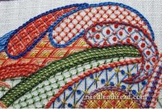 Stitch Fun: Lattice Sampler – 'Tis Finished, but There's More! – Needle'nThread.com