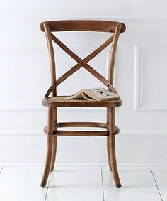 French Bistro chair - wood £95
