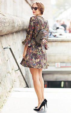 Outfits que van perfectos con una mini mochila