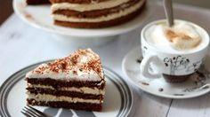 Habos cappucino, tortának álmodva