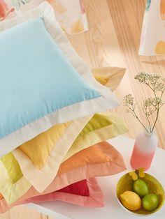 Emtion Collection de Saum & Viebahn: Colors vius i textures fresques! / Colores vivos y texturas frescas! #ontariofabrics