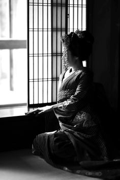 Kyoto 窓辺にて