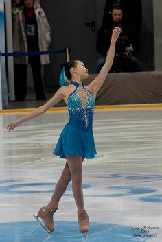 """Christina GAO, USA by zhem_chug, Beautiful color! [Christina Gao is an American figure skater. She is the 2012 Skate America silver medalist, the 2009 Junior Grand Prix Final bronze medalist, and the 2009 U.S. Junior bronze medalist. Born: March 7, 1994 (age 21), Cincinnati, OH Height: 5' 5"""" (1.65 m)]"""