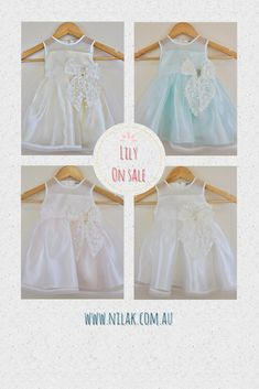 Lily Collection is on SALE!!! Available sizes from 12m to 7y. Hurry while stocks last!!!