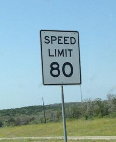 West of Kerrville I-10 goes to 80 MPH. All of toll road 130 is 80 MPH from Seguin through georgetown, Texas.