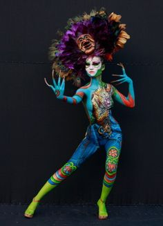 2012 International Bodypainting Festival Asia at Duryu park on September 1, 2012 in Daegu, South Korea