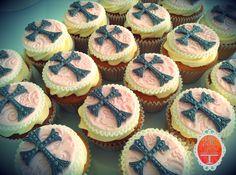Christening cupcakes in vanilla.  Cakes from Bella Capella Culinary Delights in Capella, Queensland's Central Highlands, Australia. Contact: bellacapella@bigpond.com www.facebook.com/bellacapellaculinarydelights