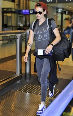 Kristen Stewart can't get enough of her James Twiggy in Slate II, spotted wearing them again in Japan's Narita Airport. Shop her style! http://jamesjeans.us/james-twiggy-13966