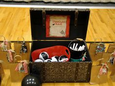 PirATE Party for 4-year-old.  Fantastic details.