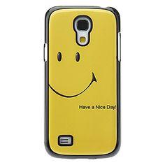 Hymyilevät kasvot Pattern alumiini suojakotelo Samsung Galaxy S4 mini I9190 - EUR € 4.59