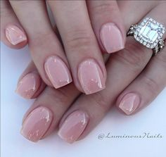 Classic Nude Acrylic Overlay with Young Nails Cover P Acrylic Nail Shapes, Pink Acrylic Nails, Acrylic Nail Designs, Pink Nails, My Nails, Gel Overlay Nails, Acrylic Overlay, Perfect Nails, Gorgeous Nails