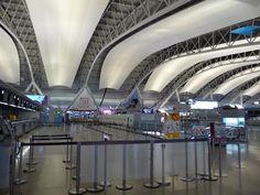Aéroport de Kansai, Renzo Piano, Japon. 1990-94