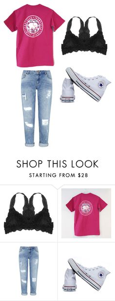 """Untitled #128"" by cbar04 on Polyvore featuring Humble Chic, Miss Selfridge and Converse"