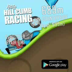 Hill Climb Racing, Android Apps, Google Play, Countryside