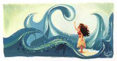 My Friend the Ocean - Lorelay Bové, Moana
