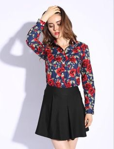 66babe59b8c95 S-5XL Cotton Long Sleeve Shirt Women 2019 Turn Down Collar Plus Size Women  Blouses with Button Long Sleeve Chemisier Femme