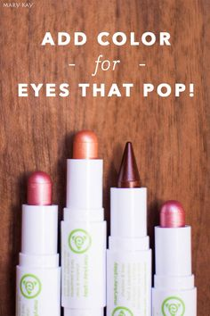 Keep your holiday makeup subtle or go bold with buildable Mary Kay At Play® Shadow & Liner! This on-the-go eye makeup multitasker comes in four smudge-proof colors that pair with brown, hazel, green and blue eyes!