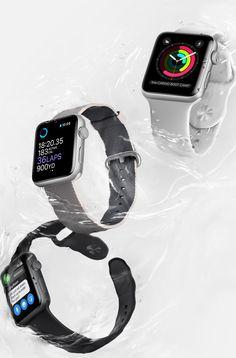 Apple Watch series 2 waterproof up to 50 meters