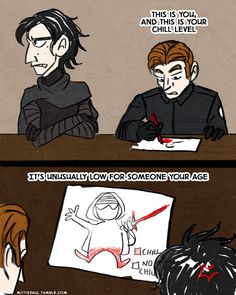 Borrowing a joke from one Disney movie to use with another Disney movie.  Hux worked very hard on that drawing.