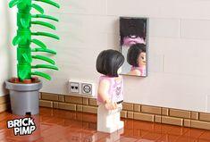 MIRROR Sticker for LEGO tiles and bricks on www.brick-pimp.com
