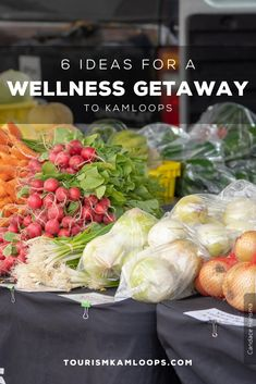 Recharge and discover the relaxed pace of Kamloops this summer. From spas to modern dining, here are 6 ways to enjoy a wellness getaway to Kamloops. Walking Tour, Spas, Fine Dining, Wellness, Tours, Vegetables, Modern, Summer, Trendy Tree