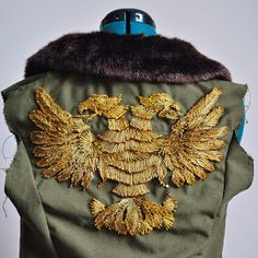 Because apparently my embroidered version of the Cherno Alpha eagle wasn't enough fun, I felt the need to make a replica of Sasha Kaidanovs...