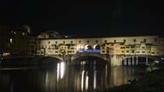 Greob - Light Painting - Light Art  - Ponte Vecchio, Firenze, Italy - 2016 #lightpainting #lightart #Italy #florence #firenze