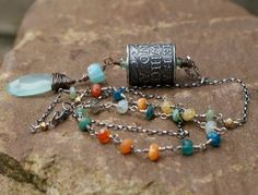 Anne Choi artisan quote talisman necklace  Boho by Mollymoojewels