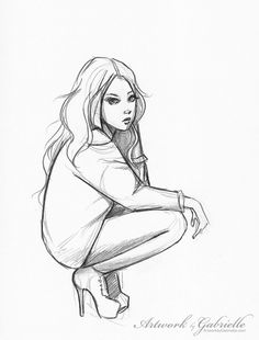 full figure sketch