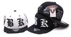 c9eaeeff590 New BK Snapback Men Women Bboy Hats Adjustable Korean Fashion Style Cap S-079