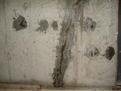 Concrete walls in your home can be unsightly, especially when those walls are covered with faded or peeling paint. Perhaps the simplest way to cover old painted concrete walls is to remove the original paint from the walls and repaint or stain them. Sealing Basement Walls, Painting Basement Walls, Painting Concrete Walls, Concrete Basement Walls, Old Basement, Concrete Block Walls, Cinder Block Walls, Basement Remodel Diy, Cement Walls