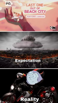 My expectations were way off what we got on that episode