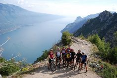 A photo from Saddle Skedaddle's Dolomites to Garda mountain bike holiday in Italy