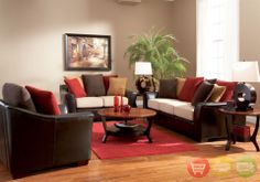Superieur Living Room Decorating With Brown Hues | Lily Casual Seating Collection