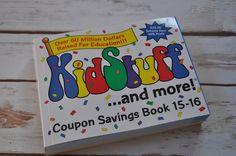 Making Fundraising Easy & Fun With KidStuff Coupon Books (& Giveaway Ends 12/18)