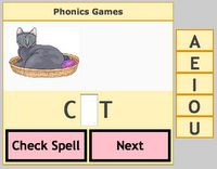 smartboard websites    short vowel activities