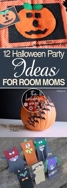 12 Halloween Party Ideas for Room Moms * The Holidaze Craze