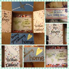 Coming Home, Deployment care package Missionary Care Packages, Deployment Care Packages, Air Force Baby, Making A Gift Basket, Hobby Shop, Military Life, Coming Home, Way Of Life, Usmc